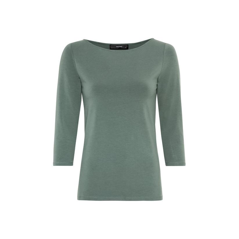hallhuber - Basic-Shirt aus Bio-Baumwolle und Lenzing Modal™