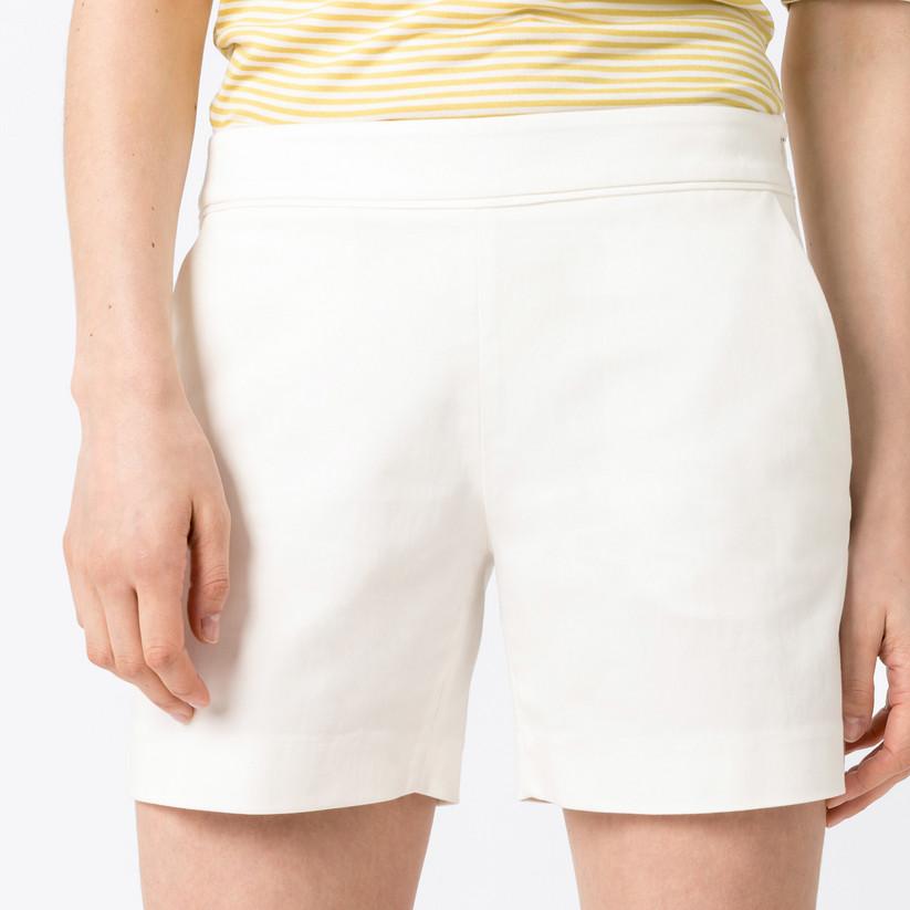 HALLHUBER Basic-Shorts Amalia aus Bio-Baumwolle schmal geschnitten